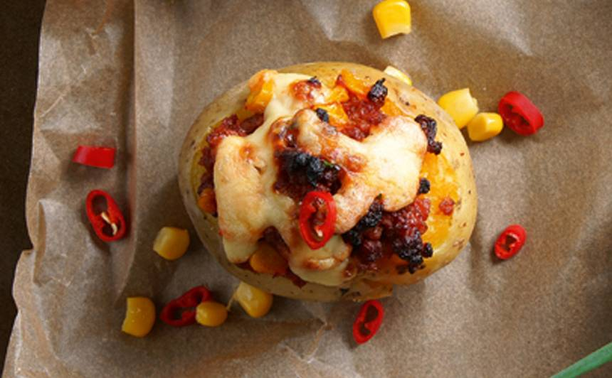 Krāsnī cepts  kartupelis ar malto gaļu recepte