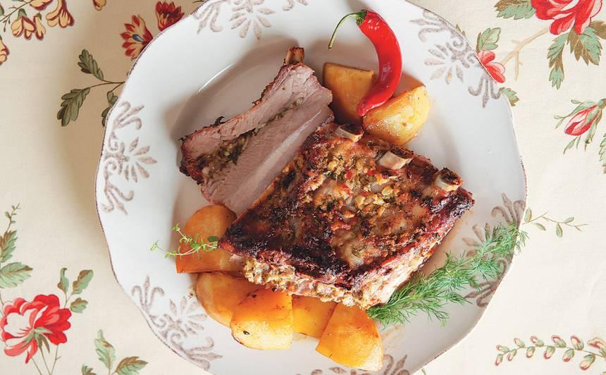 Cūku ribiņu cepetis recepte
