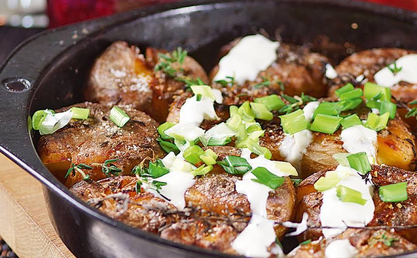 Kartupeļi ar ķimenēm un timiānu recepte