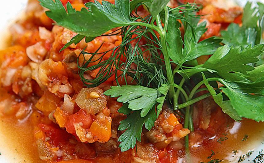 Grilētu dārzeņu aizdars recepte