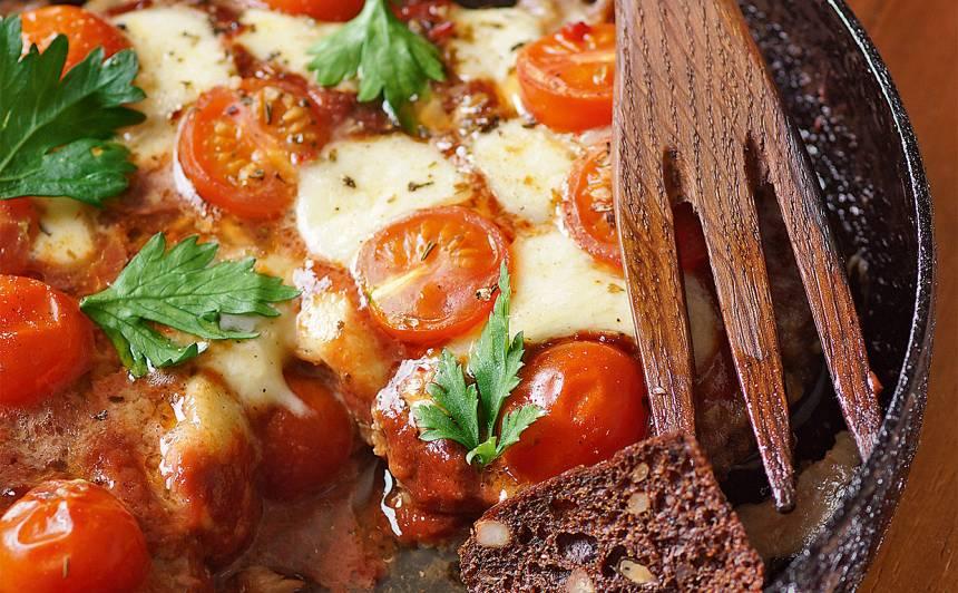 Gaļas pica recepte