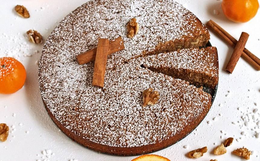 Grieķu valriekstu kūka