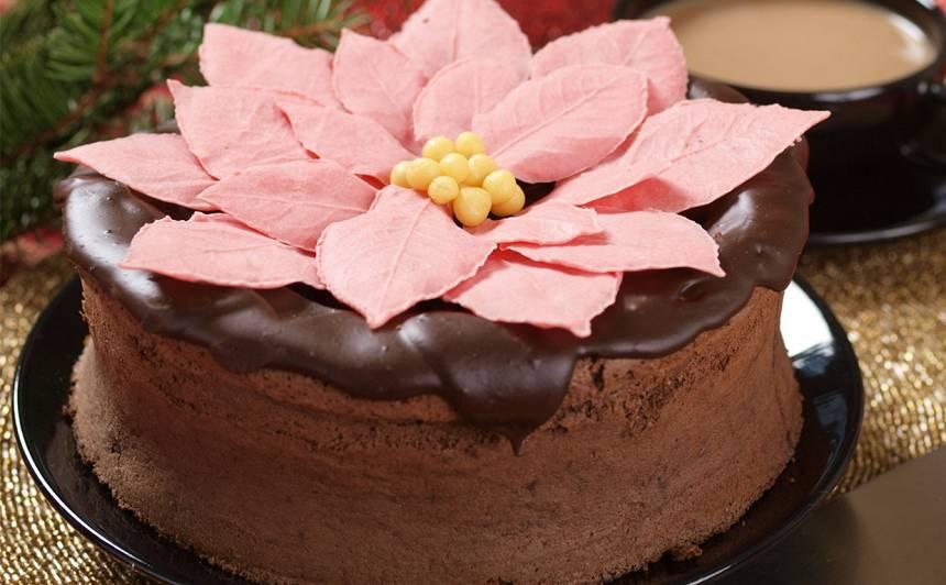 Šokolādīgā zvaigznes kūka recepte