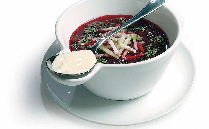 Biešu zupa recepte