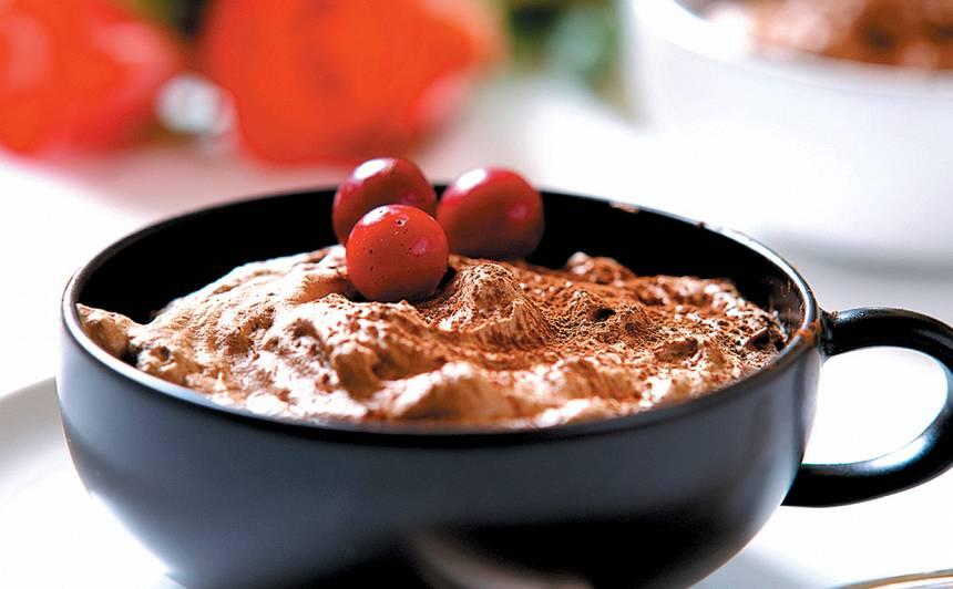 Putotā šokolāde recepte