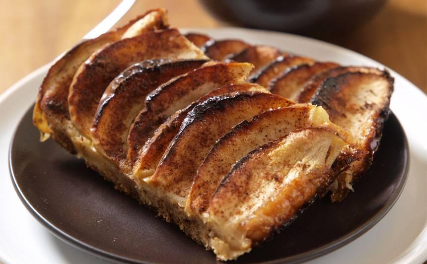 Baltmaizes pīrāgs ar āboliem recepte