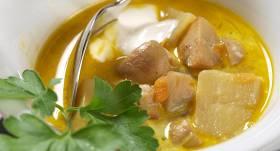 Šampinjonu zupa recepte