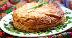 Kārtainais pankūku pīrāgs recepte