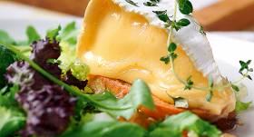 Cepts siers salātos recepte