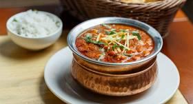 Punjabi chana (chole) masala turku zirņi