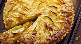 Franču ābolu krēma kūka recepte