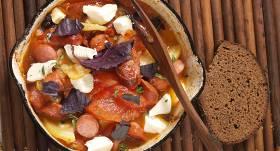 Cepti tomāti ar desiņu recepte