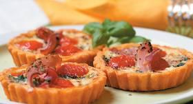 Sāļie groziņi ar mājas sieru recepte