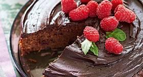 <strong>Šokolādes un kabaču</strong> kūka