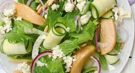 Medus bumbieru salāti ar fetu recepte
