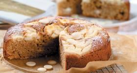 Baltās šokolādes kūka ar krējumsieru