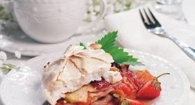 Pankūku kūka ar zemenēm receptes