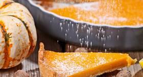 Pikantā ķirbju kūka
