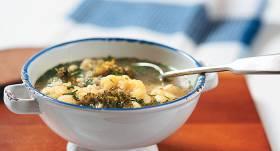 Ziedkāpostu un brokoļu zupa recepte