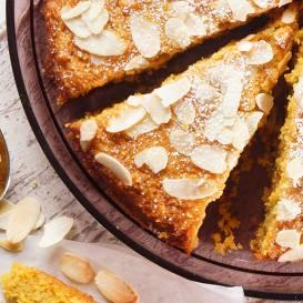 Burkānu kūka ar ingveru, bez sviesta recepte