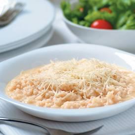 Risoto ar baltvīnu un sieru recepte