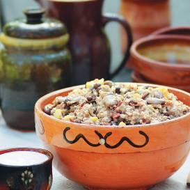 Spēka ēdiens- grūdenis recepte