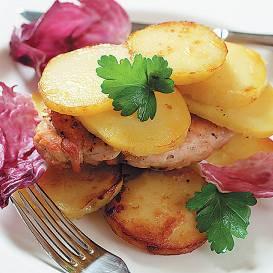 Vista kartupeļos recepte
