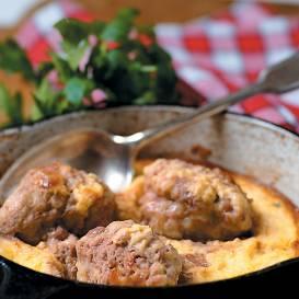 Kotletes omletē recepte