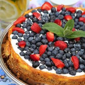Vasaras siera kūka recepte