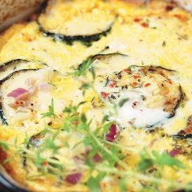 Cukīni omlete recepte