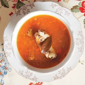 Cūku ribiņu zupa recepte