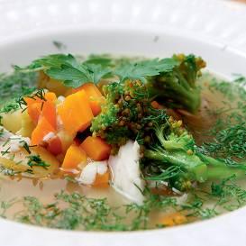 Zivju zupa receptes