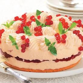 Siera kūka ar ievārījumu recepte