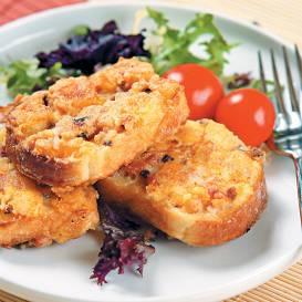 Apcepta maize ar panējumu recepte