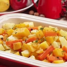 Kāļu sautējums ar kartupeļiem recepte