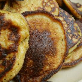 Ķirbju miltu pankūkas recepte