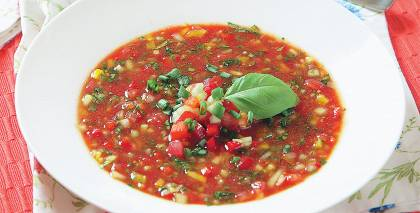 Gaspačo aukstā zupa recepte