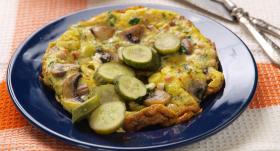 Dārzeņu omlete recepte