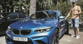 Kā Latvijas slavenākais bokseris <strong>Mairis Briedis</strong> testēja BMW M2