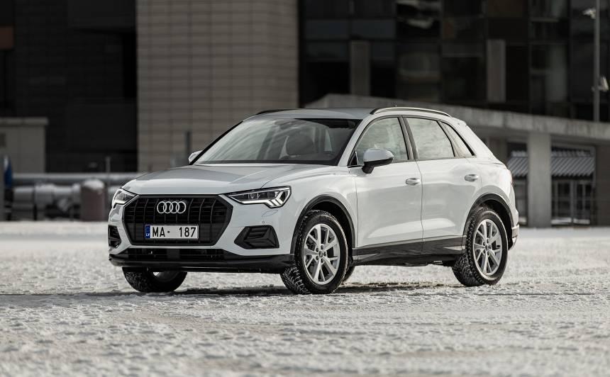 <strong>Jaunais Audi Q3</strong> ieradies Latvijā