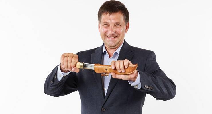 Egons Mednis Dikļu pils restorāns 8 nažu un gardēdis