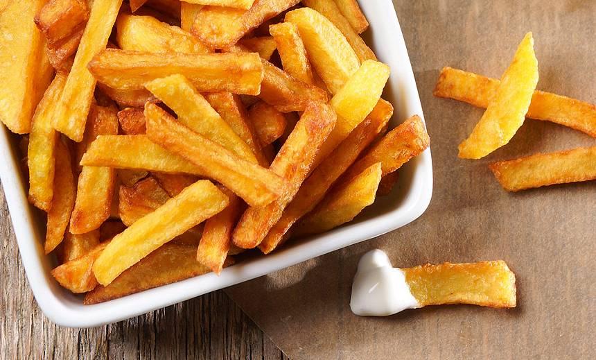 Kā fritēt kartupeļus