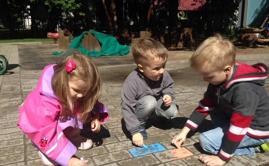 Idejas, kā pavadīt laiku ar bērnu vienkārši, bet radoši