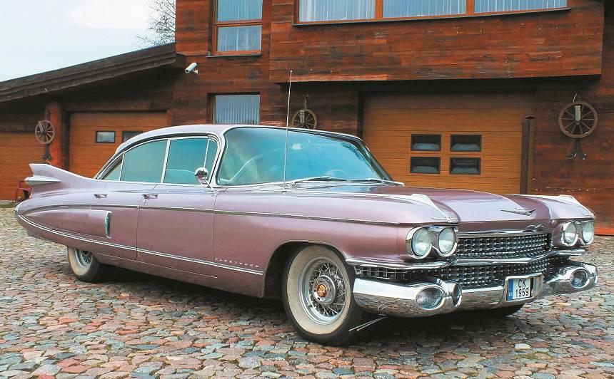 Motormuzeja retro auto - Cadillac Fleetwood Sixty Special <strong>popkultūras ikona</strong>