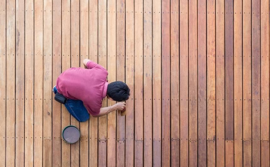 Kā pareizi <strong>atjaunot koka grīdu?</strong>
