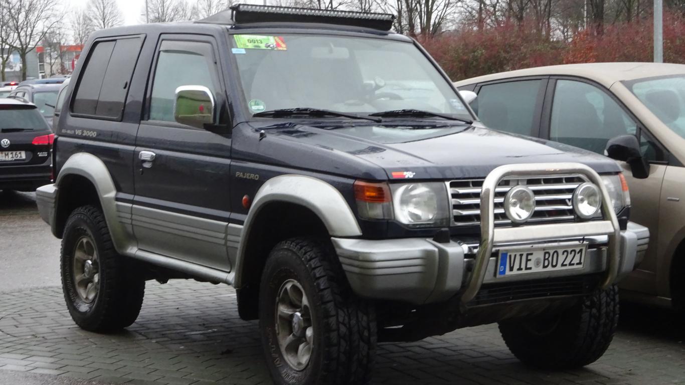 Mitsubishi Pajero from Germany