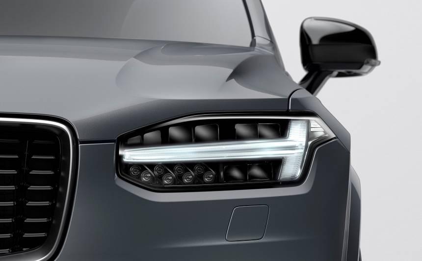 Atklātībā nonācis atjauninātais <strong>Volvo XC90</strong> (FOTO)