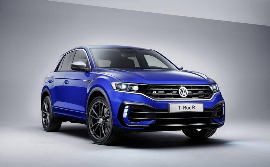Jaunais Volkswagen T-Roc ieguvis <strong>sportisko R</strong> versiju