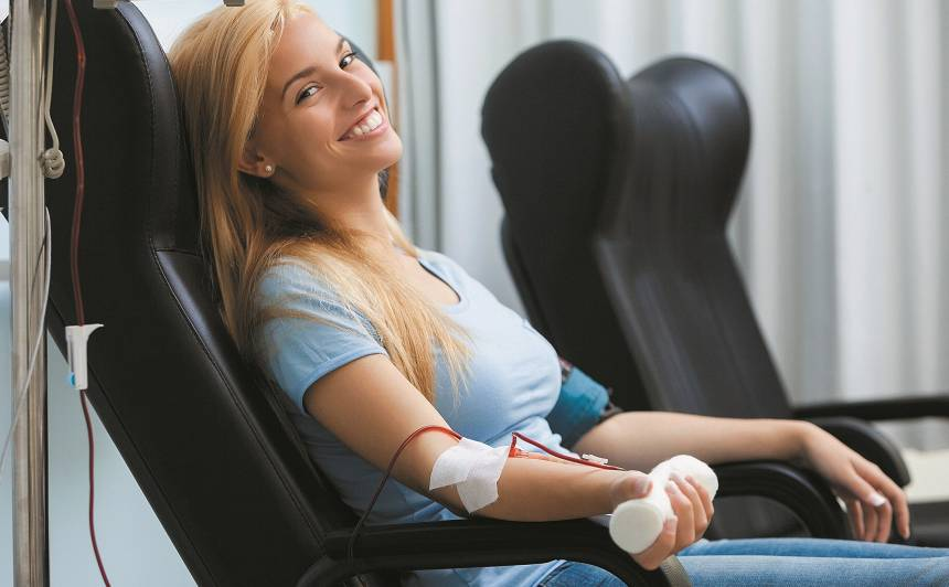5 ieguvumi, kļūstot par <strong>asins donoru</strong>