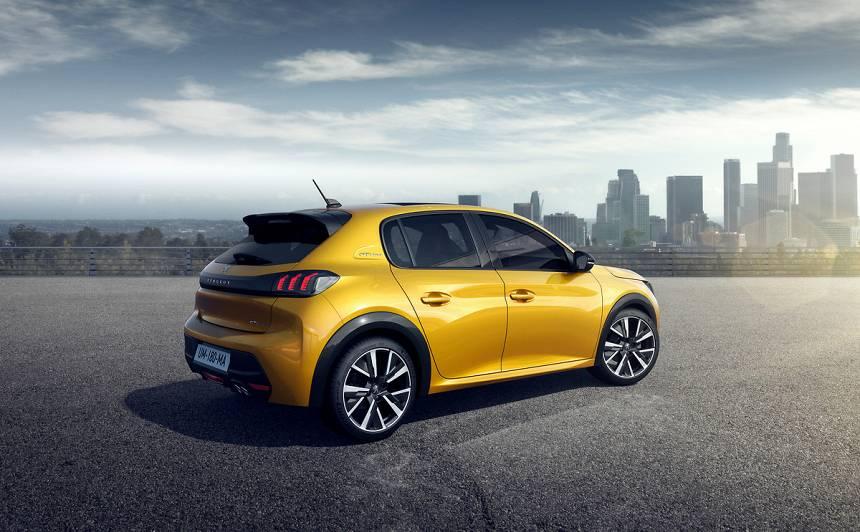 Franču uznāciens pirms Ženēvas autoizstādes — jaunais <strong>Peugeot 208</strong>